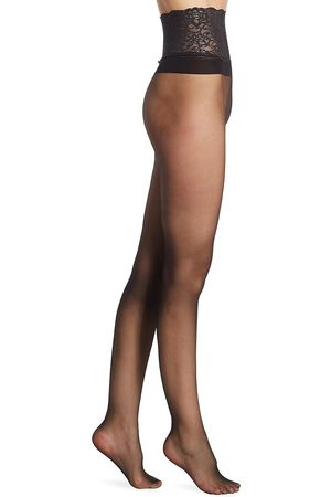 Commando Women's The Sexy Seamless Sheer Hosiery - - Size Large