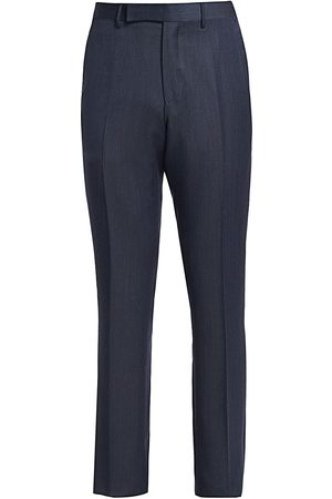 Ermenegildo Zegna Men's Wool & Silk Mulberry Trousers - - Size 54 (38)
