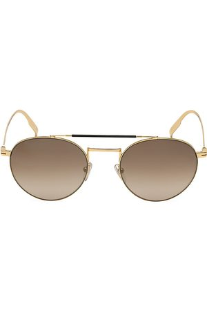 Ermenegildo Zegna Men's 52MM Metal Round Sunglasses