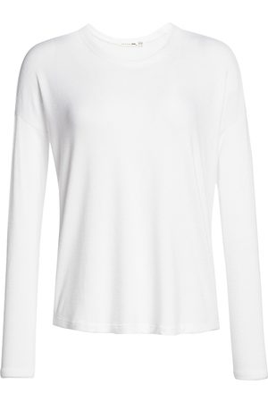 RAG&BONE Women's Hudson Long-Sleeve Tee - - Size Medium