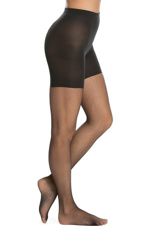 Spanx Women's Uptown Tight-End Micro-Fishnet Tights - - Size B