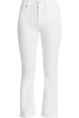 7 for all Mankind Women's High-Rise Slim Kick Jeans - - Size 31 (10)