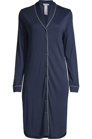 Hanro Women's Natural Comfort Tailored Nightshirt - - Size Large