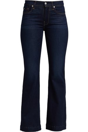 7 for all Mankind Women's Tailorless Dojo Slim Illusion Jeans - - Size 34 (16)