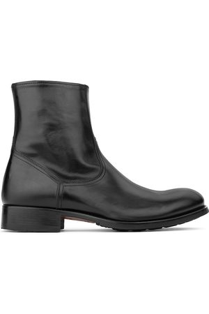 To Boot Men's Rondo Side-Zip Leather Boots - - Size 11