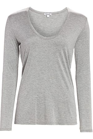 Splendid Women's Long-Sleeve T-Shirt - - Size XXL