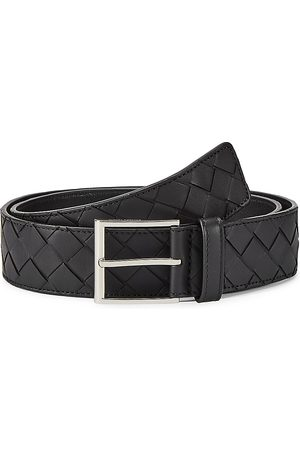 Bottega Veneta Men's Intrecciato Leather Belt - - Size 115 (46)
