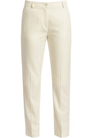 Agnona Women's Wool Tailored Trousers - - Size 42 (6)