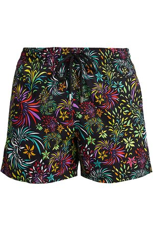 Vilebrequin Men's Moorise Charli Evening Birds Printed Swim Trunks - - Size XXL