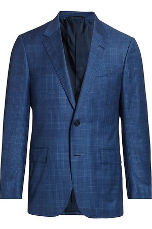 Ermenegildo Zegna Men's Textured Wool Jacket - - Size 58 (48) L