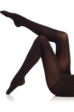Natori Women's Velvet Touch Opaque Control Top Tights - - Size Large-XL