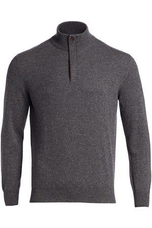 Ermenegildo Zegna Men's Cashmere Sweater - Dark Grey - Size 44