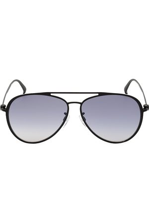 Bally Men's 61MM Metal Aviator Sunglasses