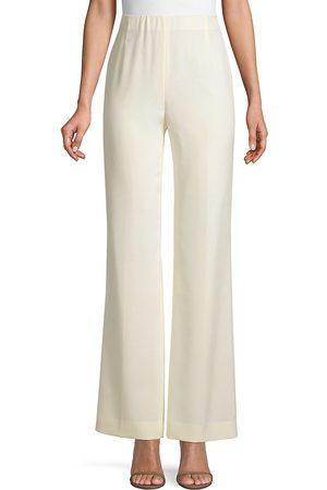 Lafayette 148 New York Women's Luxe Stretch Crepe De Chine Studio Pant - - Size 18