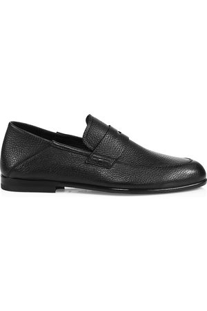 HARRYS OF LONDON Men Loafers - Men's Edward Leather Penny Loafers - - Size 11