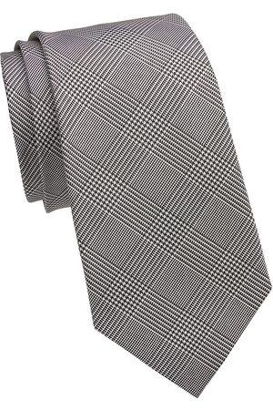 Ralph Lauren Men's Prince Of Wales Check Silk Tie