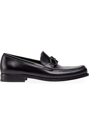 Salvatore Ferragamo Men's Rolo 10 Leather Loafers - - Size 7 E