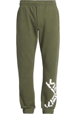 Kenzo Men's Logo Sport Jogging Pants - Dark Khaki - Size XL