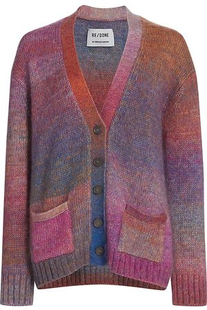 RE/DONE Women's 90s Oversized Knit Cardigan - - Size Large