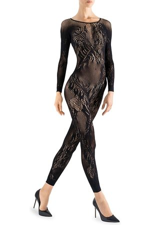 Natori Women's Lace Feather Catsuit - - Size XL