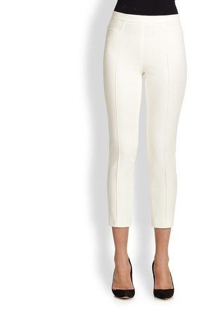 AKRIS Women's 1400 Techno Cotton Franca Pants - - Size 18