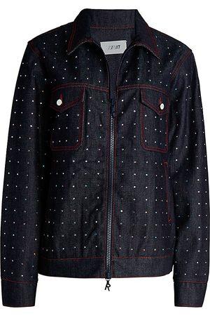 Kirin Women's Stras Worker Denim Jacket - - Size XS
