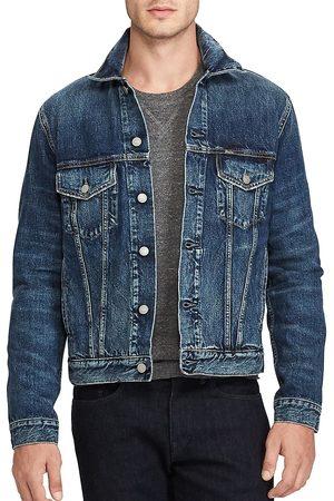 Polo Ralph Lauren Men's Denim Cotton Trucker Jacket - - Size Large