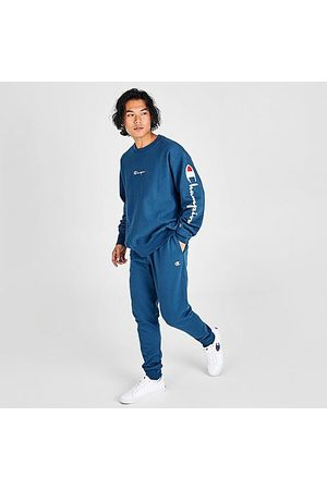 Champion Men's Reverse Weave Logo Jogger Pants in Size Small Cotton