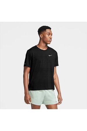 Nike Men's Dri-FIT Miler Running T-Shirt in Size Medium 100% Polyester