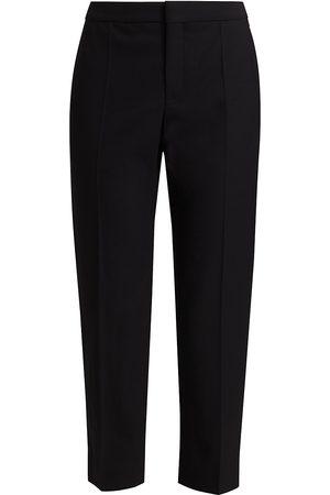 Chloé Women's Stretch Virgin Wool Trousers - - Size 44 (12)