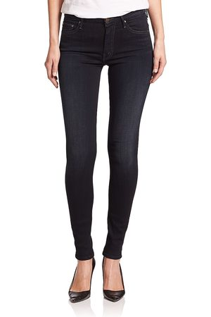 Mother Women's The Looker High-Rise Skinny Jeans - - Size 31 (10)