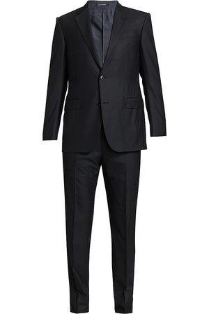 Ermenegildo Zegna Men's Tonal Wool Suit - - Size 60 (50) L