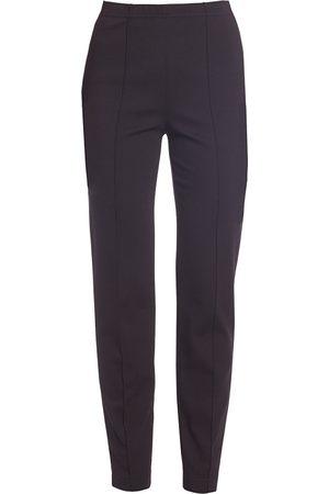 ST. JOHN Women's Cropped Pintuck Pants - - Size 16