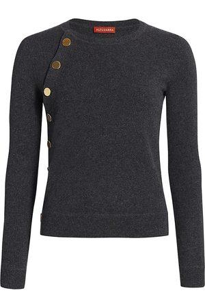 Altuzarra Women's Minamoto Cashmere Button Knit Sweater - - Size XS