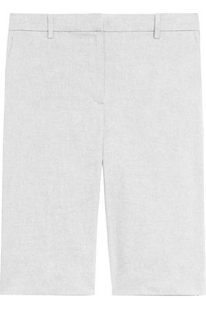 THEORY Women's Treeca Shorts - - Size 16