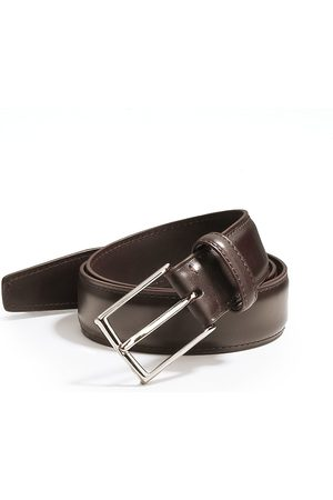 Ermenegildo Zegna Men's Tailored Leather Belt - - Size 42
