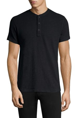RAG&BONE Men's Classic Short Sleeve Henley - - Size Small