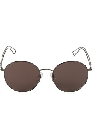 Balenciaga Men's 56MM Round Sunglasses