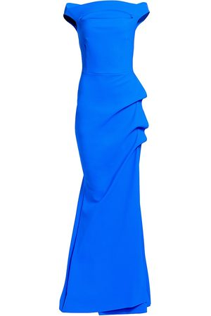 CHIARA BONI Women's Melania Off-The-Shoulder Gown - - Size 52 (16)