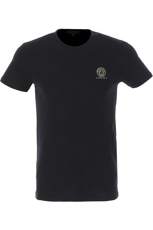 VERSACE Men's Crewneck Logo T-Shirt - - Size 3 (XS)