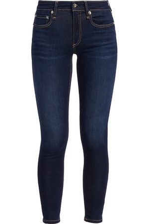 RAG&BONE Women's Cate Mid-Rise Ankle Skinny Jeans - - Size 31 (10)