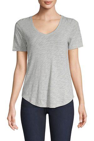 ATM Anthony Thomas Melillo Women's Curved-Hem Tee - - Size Medium