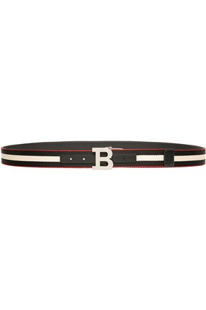 Bally Men's B Buckle Reversible Belt - - Size 46