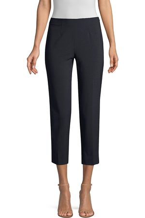 PIAZZA SEMPIONE Women's Audrey Cropped Wool Pants - - Size 54 (18)
