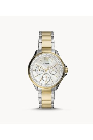 Brands Fossil Women's Sadie Multifunction Two-Tone Stainless Steel Watch - /Gold