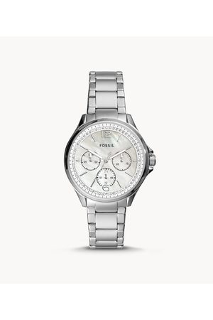 Brands Women Watches - Fossil Women's Sadie Multifunction Stainless Steel Watch