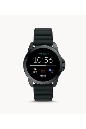 Mens Men Smart Watches - Fossil Men's Gen 5E Smartwatch Silicone