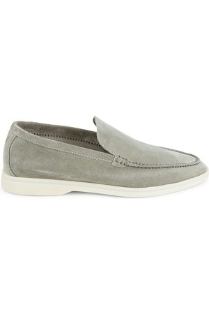 Loro Piana Men's Summer Walk Suede Loafers - - Size 47 (14)