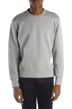 Thom Browne Men's Crewneck Cotton Sweatshirt - - Size 0 (XS)
