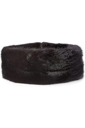 The Fur Salon Women's Mink Fur Headband